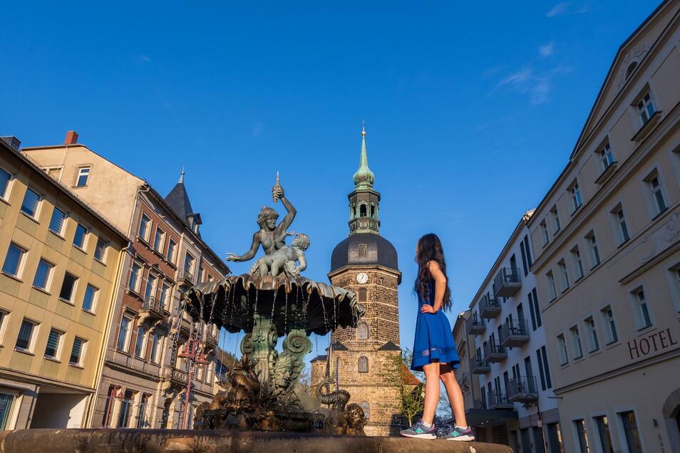 Der Markt von Bad Schandau: Die Stadt will den Kneipp-Gedanken zeitgemäß interpretieren und auch ein jüngeres Publikum ansprechen.