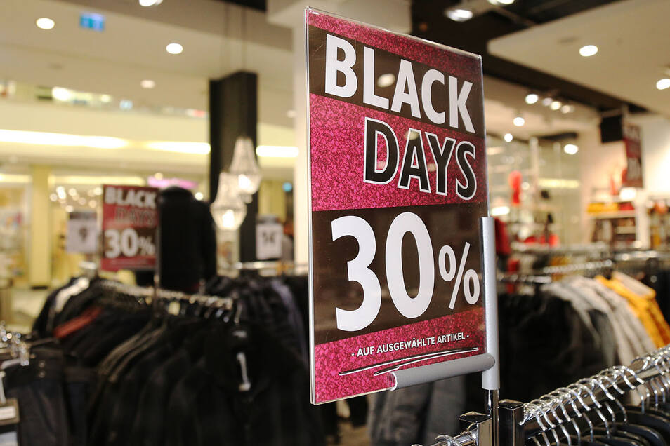 Black Days bei Jeans Fritz.