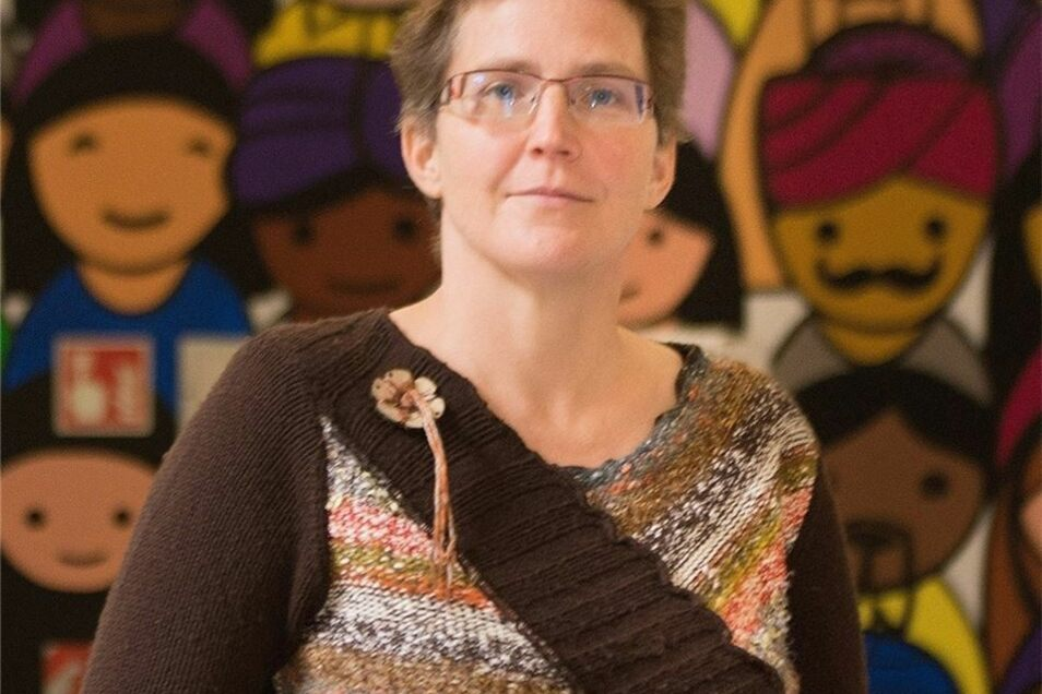 Die Ausländerbeauftragte Kristina Winkler