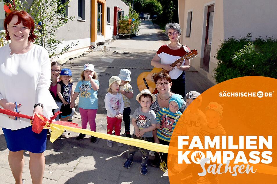 Die Schmiedeberger Kita Spatzennest Schmiedeberg hat die Oberbürgermeisterin Kerstin Körner gerade erst eingeweiht. Dennoch hadern Eltern mit der Familienpolitik der Stadt.