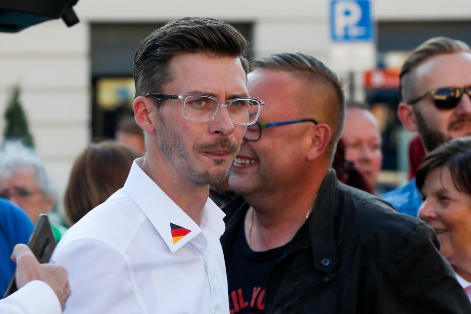 Der AfD-Abgeordnete Mario Kumpf.