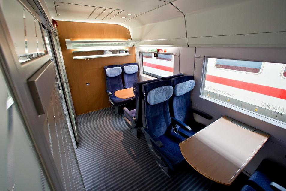 Die Bahn setzt künftig wohl wieder mehr auf Abteilwagen.