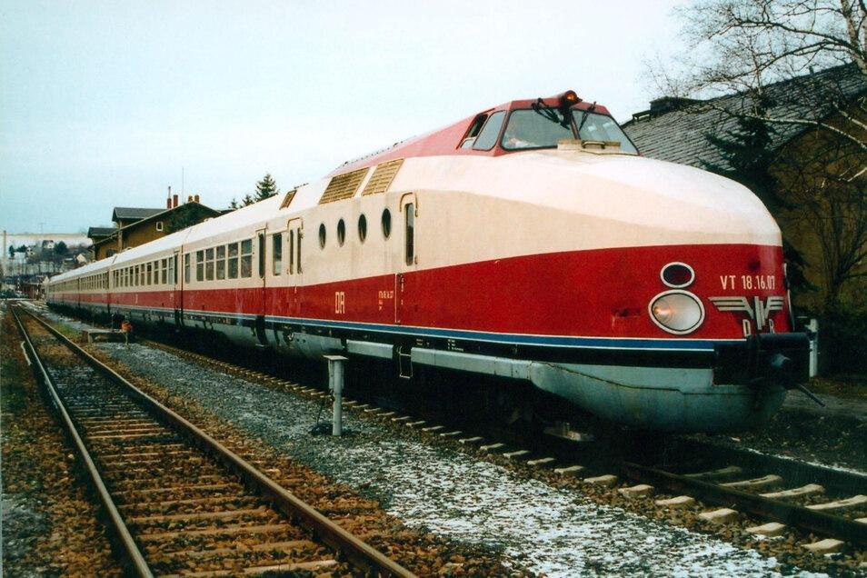 So sah man ihn zu DDR-Zeiten im In- und Ausland: der Vindobona. Zwei Leipziger wollen einen der legendären Züge einsatzfähig machen.