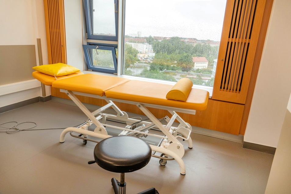 Klinik mit Panoramablick: Aus den Behandlungsräumen haben Mitarbeiter und Patienten eine gute Sicht über die Dächer der Stadt.