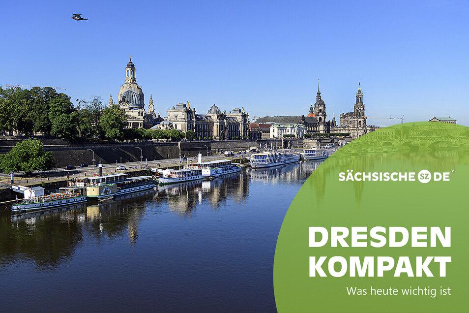 Blick auf die historische Dresdner Altstadtkulisse: Das Wichtigste vom Tag.