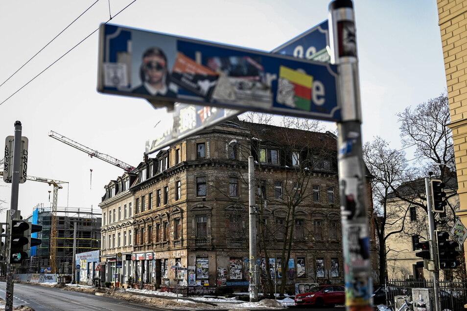 Die Bombe wurde im Leipziger Stadtteil Connewitz entdeckt.