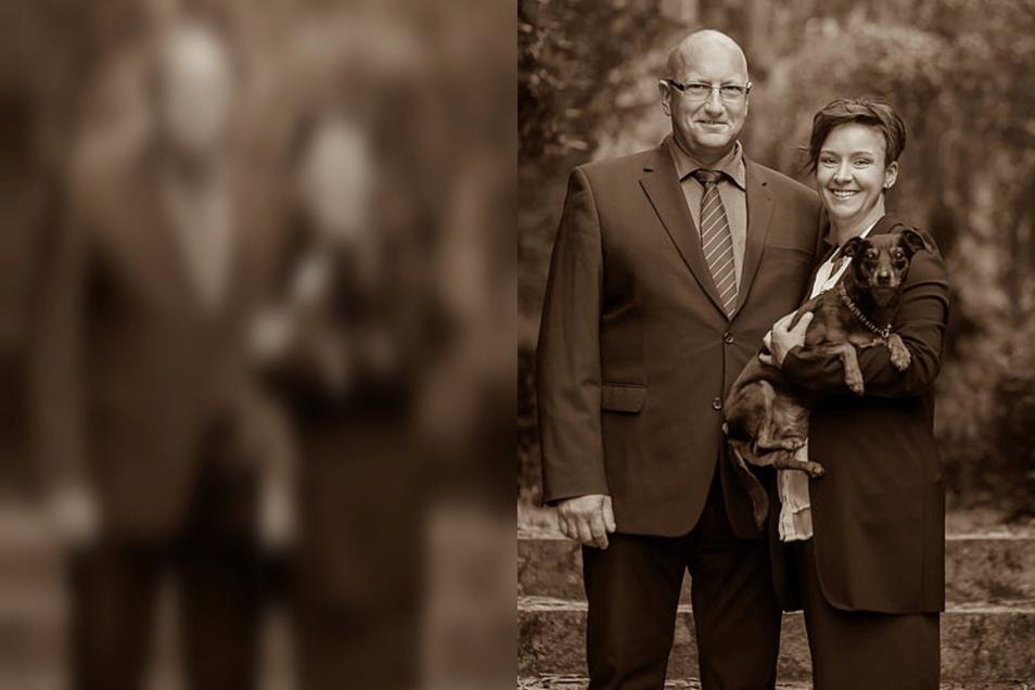 Jana Semper und ihr Kollege Jörg Lehmann sind Bestatter in Ebersbach. Sie raten ihren Kunden jetzt, Trauerfeiern nicht zu verschieben.