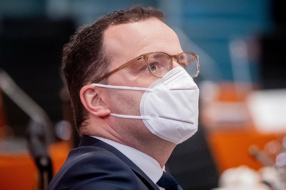 Bundesgesundheitsminister Jens Spahn (CDU) erläuterte am Freitag seinen Impfplan.