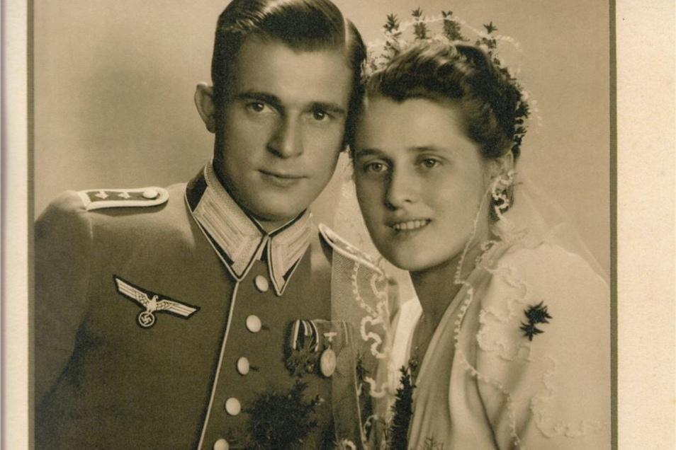 Georg Voigt bei seiner Hochzeit.