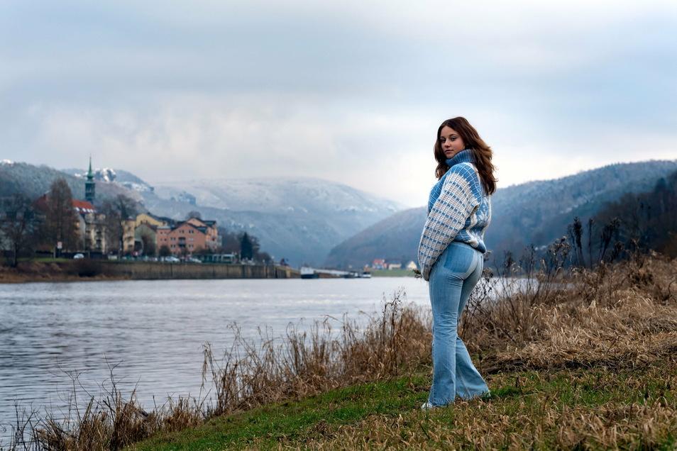 Wären nicht die überzuckerten Berge im Hintergrund könnte dieser Spaziergang von Klarissa an der Elbe auch als Herbstspaziergang durchgehen.