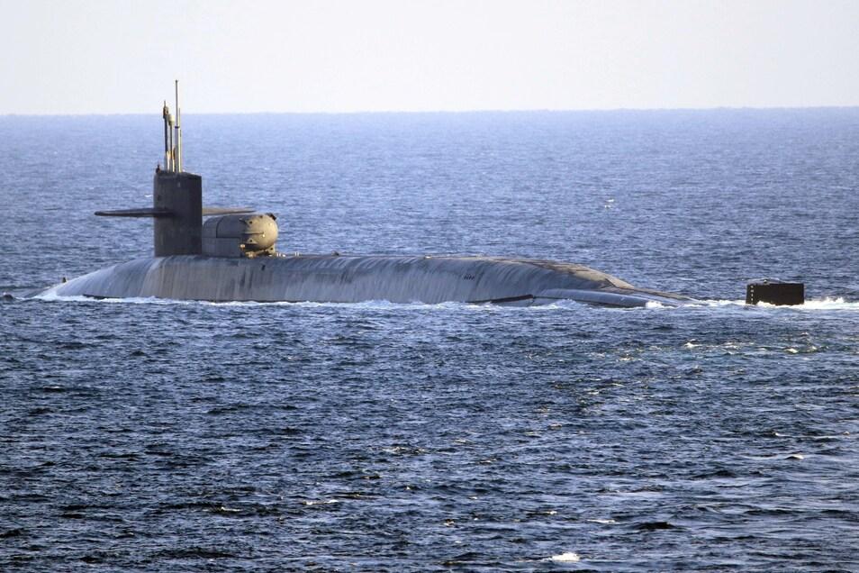 Ein U-Boot der US-Marine ist im Indopazifik mit einem Objekt zusammengestoßen (Archivbild).
