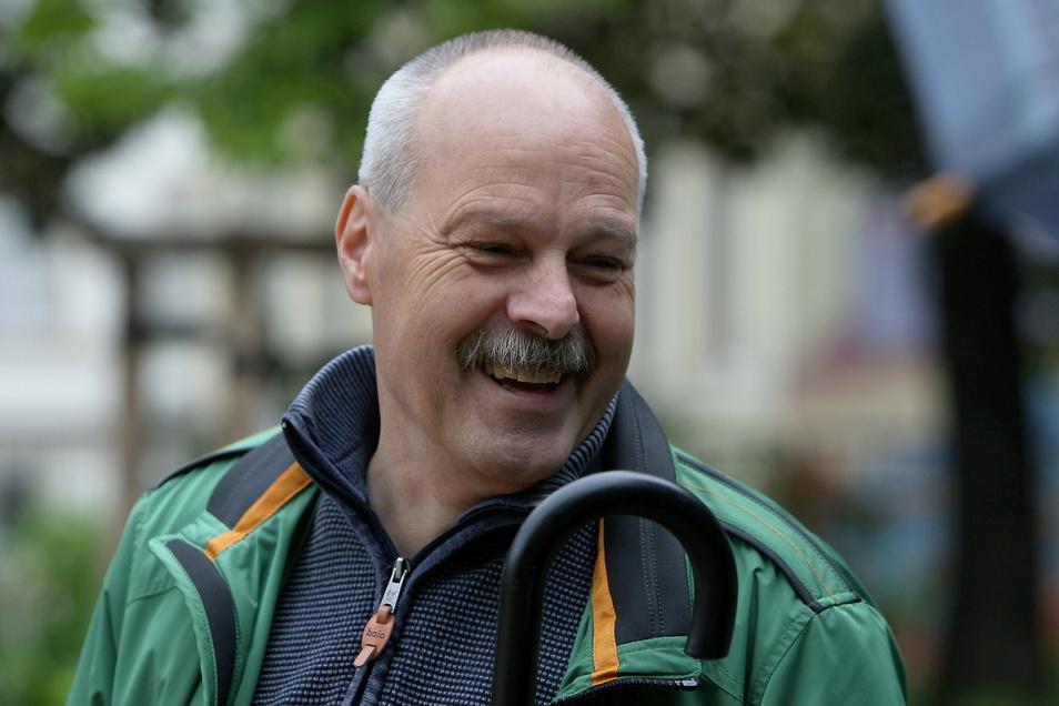 Pirnas Beigeordneter Eckhard Lang: Er geht in den Ruhestand, derzeit wird ein Nachfolger gesucht.