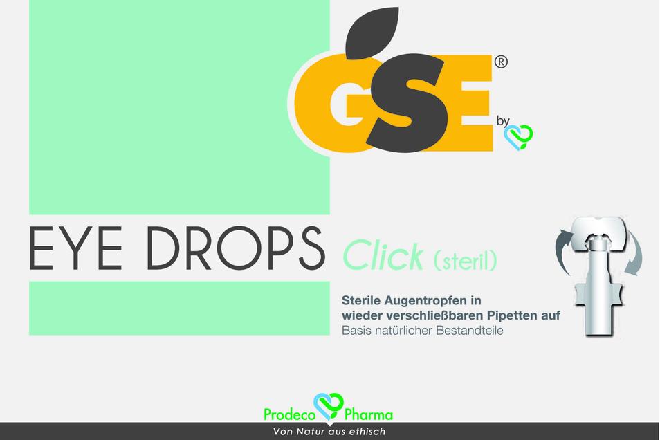EyeDrops von GSE können die Beschwerden von trockenen Augen lindern.