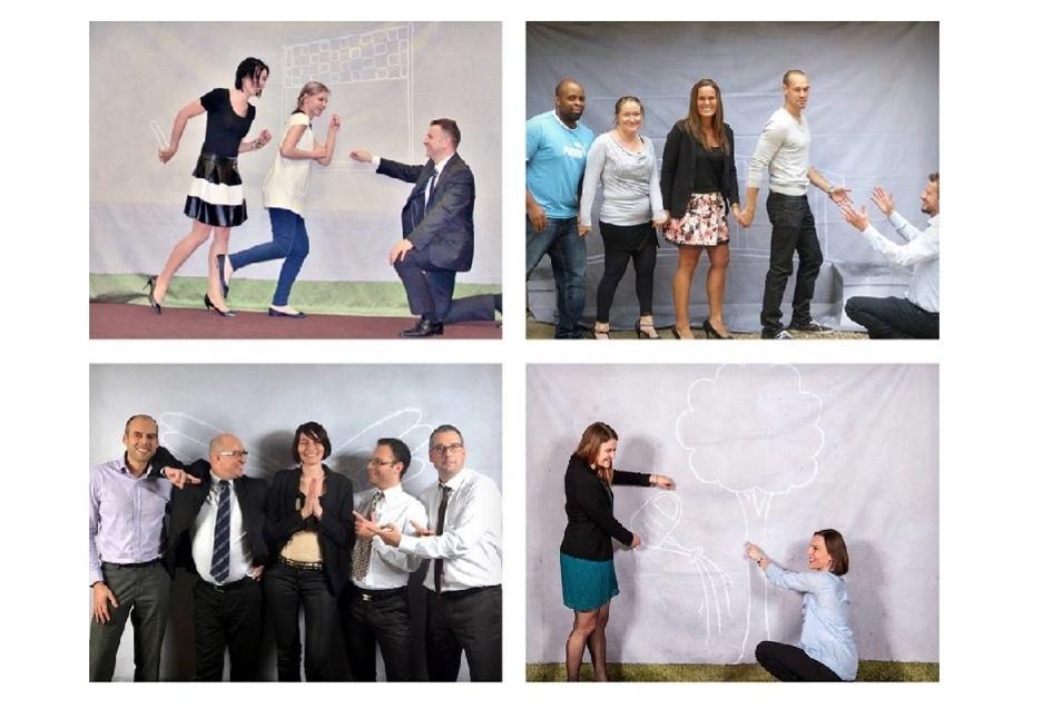 Dass der Spaß an der Arbeit einfach dazu gehört, zeigt das Team von ista.