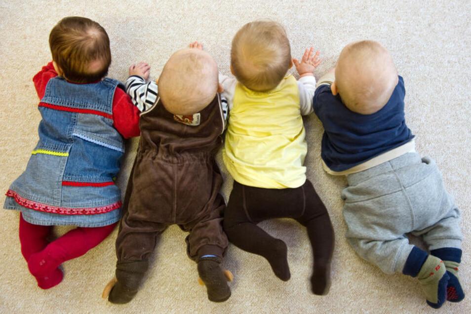 Bis zu 50 Krippenkinder können im Putzkauer Zwergenland betreut werden. Vor allem in diesem Bereich steigen die Elternbeiträge nach sieben Jahren beträchtlich.
