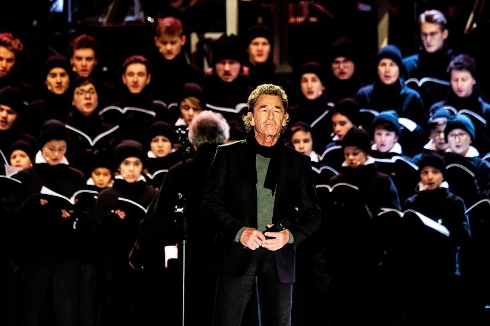 2018 war Peter Maffay Gast beim Adventskonzert des Dresdner Kreuzchores.