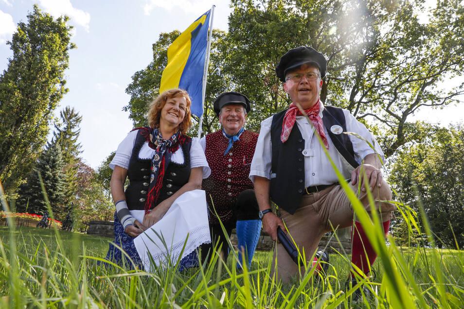 Der Tag der Oberlausitz wird in diesem Jahr am 21. August zum achten Mal gefeiert - mit Tracht, Fahne und viel Stolz auf die Heimat.