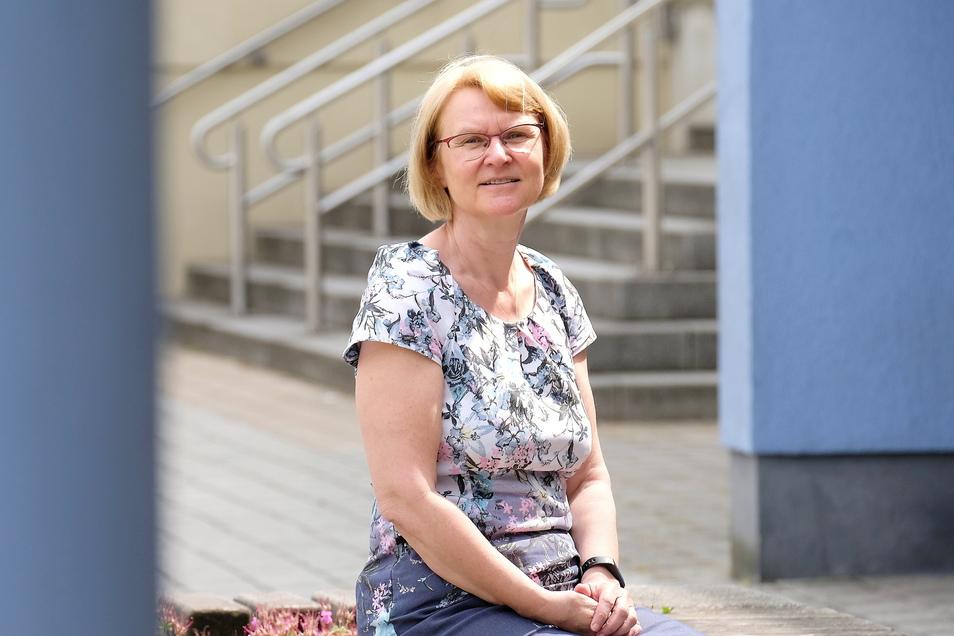 Rita Harzbecker ist als Schulleiterin am Beruflichen Schulzentrum (BSZ) in Riesa für rund 950 Schüler verantwortlich.