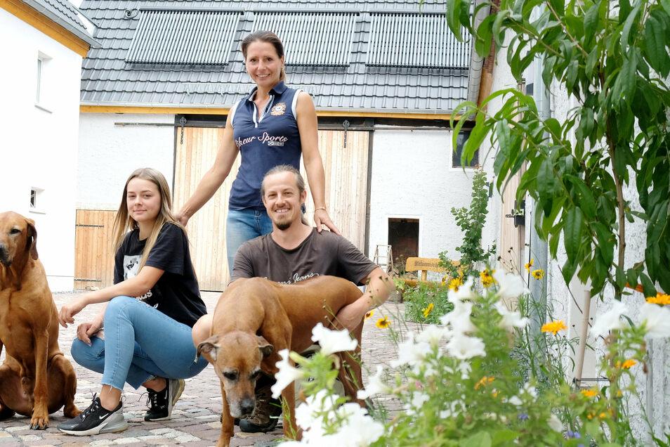 Familie Kühnemund zog nach Lommatzsch und sanierte einen alten Bauernhof. Solche Initiativen wünscht sich die Bürgermeisterin auch für die Kernstadt.