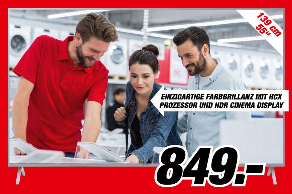 Panasonic TX-55 GXW 904 LED TV für 849 Euro*