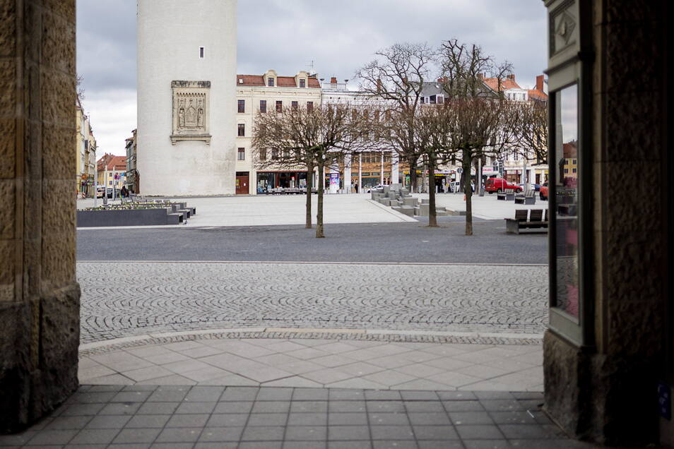 März 2020: Der erste Lockdown sorgte für leere Plätze in Görlitz. Viele Unternehmer mussten Hilfsgelder beantragen. Für manche aber auch eine Gelegenheit für Betrug.