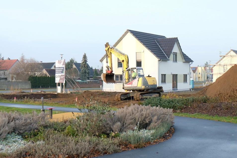 Niederau setzt auch weiter auf Zuzug. Hier entsteht ein neues Wohngebiet auf dem ehemaligen Sportplatz in Niederau.
