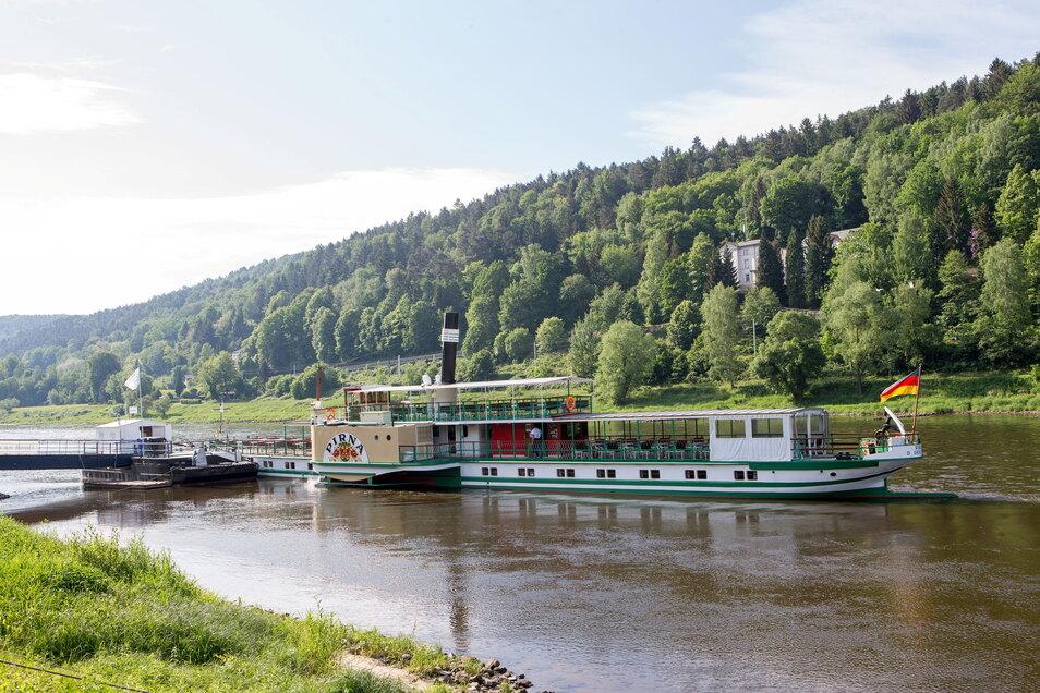 Mit halber Kraft voraus. So geht es mit dem Schiffsverkehr in der Sächsischen Schweiz weiter.