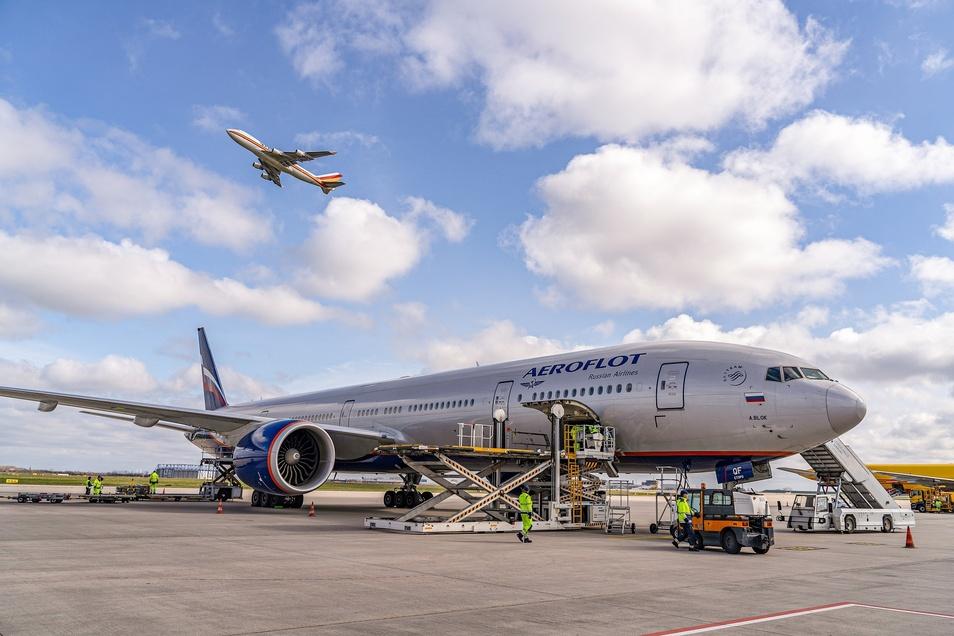 Viele Frachtflüge werden derzeit auch mit Passagierflugzeugen durchgeführt.