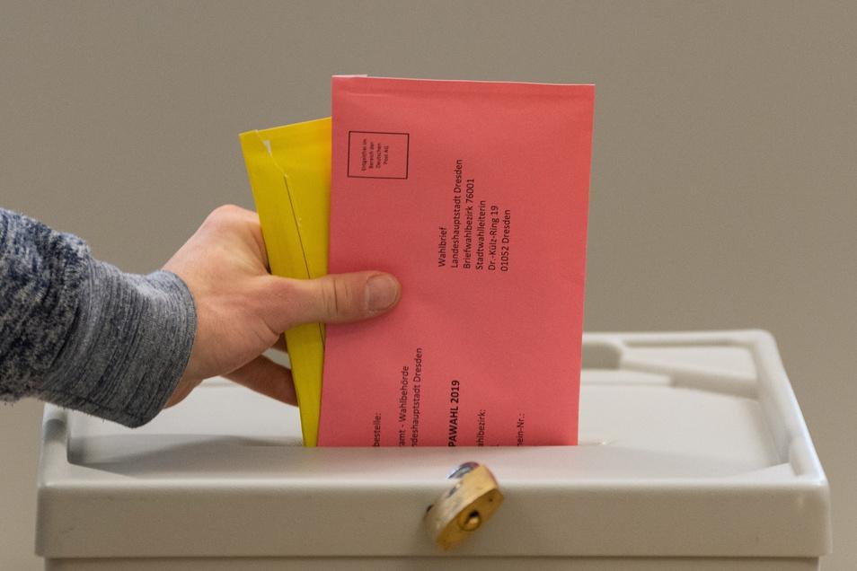 Bei der Kommunalwahl in Dresden, die parallel zur Europawahl stattfand, hatte die Linke Verluste einstecken müssen.