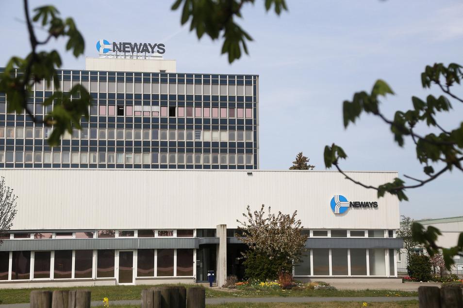 Blick auf den Neways-Standort in Riesa.
