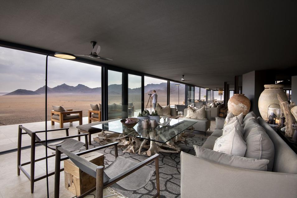 Lodge-Design im Einklang mit der Natur.