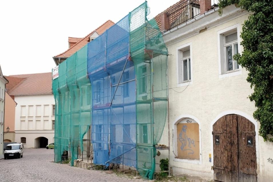 Im Gebäude Leipziger Straße 27, der früheren Reblaus, sollen einmal bis zu 20 Touristen übernachten können.