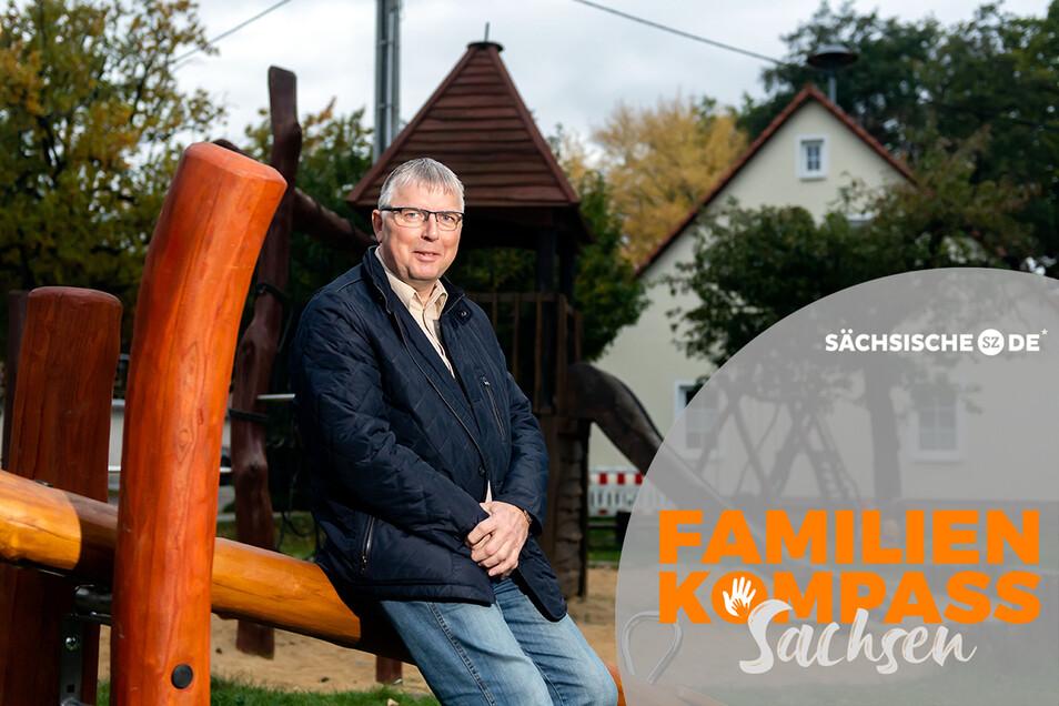"""Seit 18 Jahren hegt der Dorfclub """"Kleine Spree"""" rund um Silvio Kschischan den Dorfplatz in Pließkowitz. Um das Angebot zu erhalten, braucht es vor allem ehrenamtliches Engagement und Kreativität bei der Geldbeschaffung."""