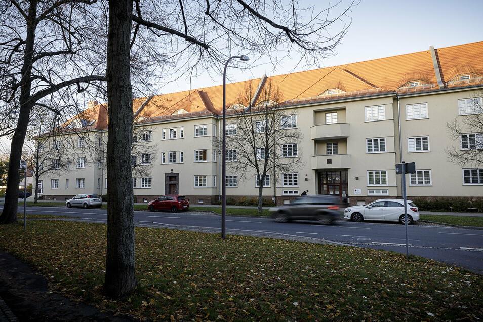 Im DRK-Altenpflegeheim an der Görlitzer Reichertstraße gilt aktuell ein Besuchsverbot.