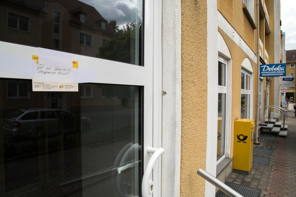 Überraschend wurde die Post in der Ödernitzer Straße in Niesky geschlossen.