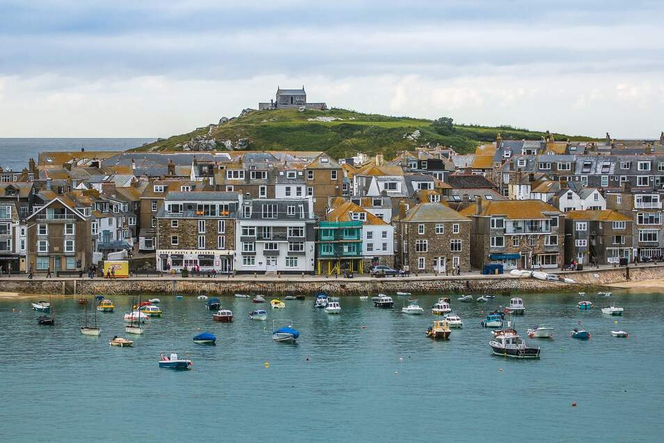 St. Ives in Cornwall.