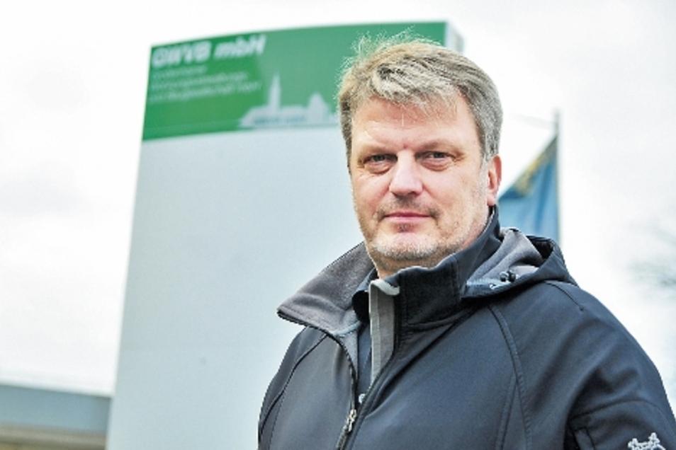 Thomas Schindler arbeitet jetzt für die Großenhainer Wohnungsverwaltungs- und Baugesellschaft mbH. Er soll den technischen Part übernehmen.