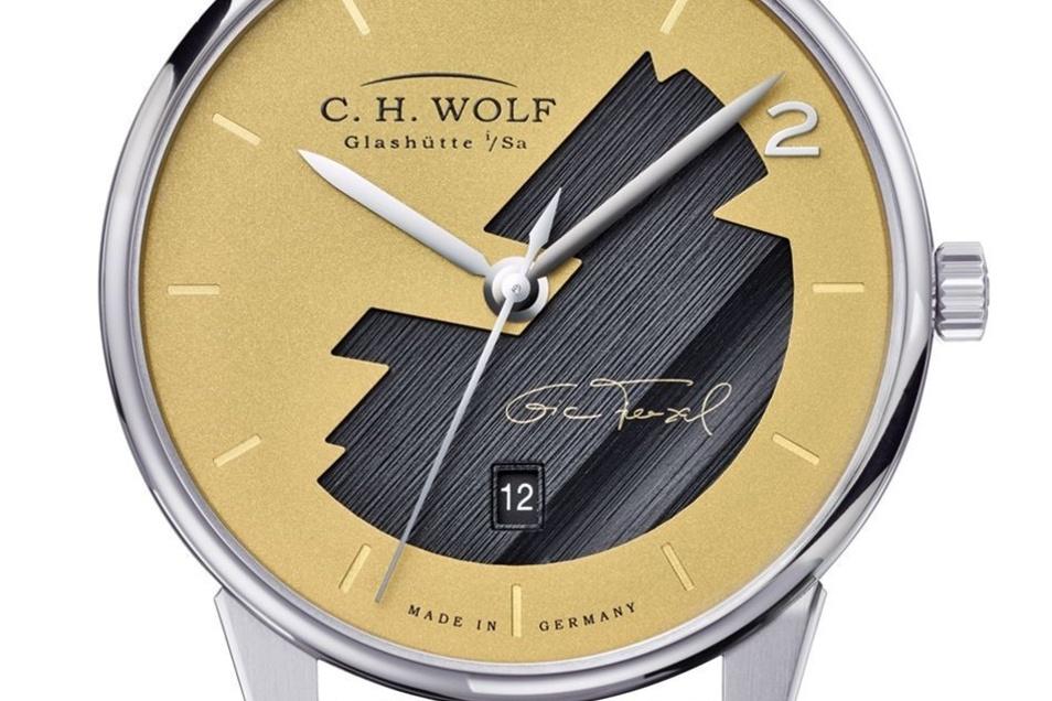 Zum Neustart brachte Wolf die Eric-Frenzel-Uhr auf den Markt.
