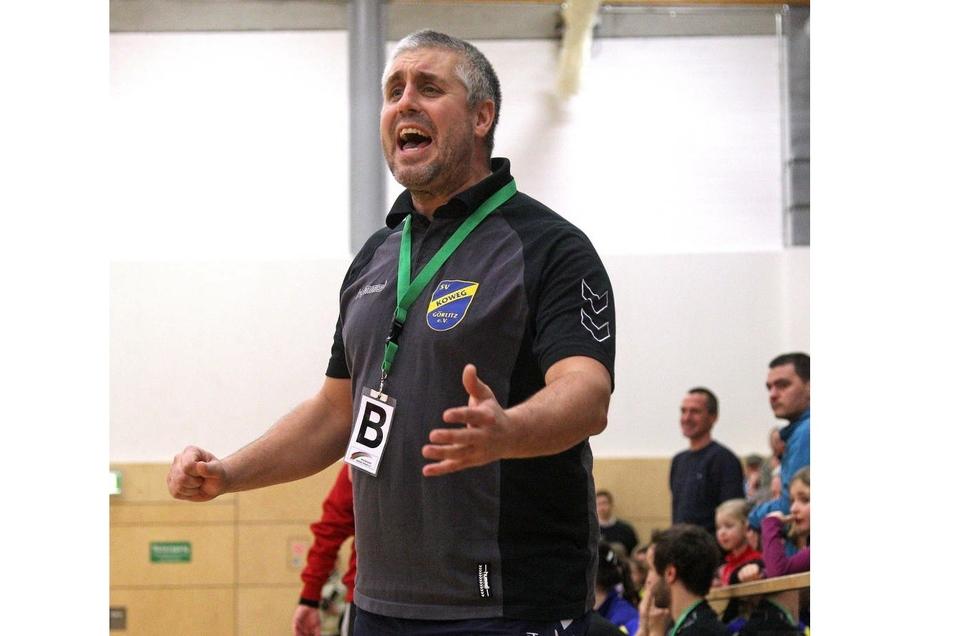 Jörg Adam, der die Görlitzer Handballerinnen schon einige Jahre und bis zum Februar 2019 trainierte, ist der erste Trainer des neuen Vereins.