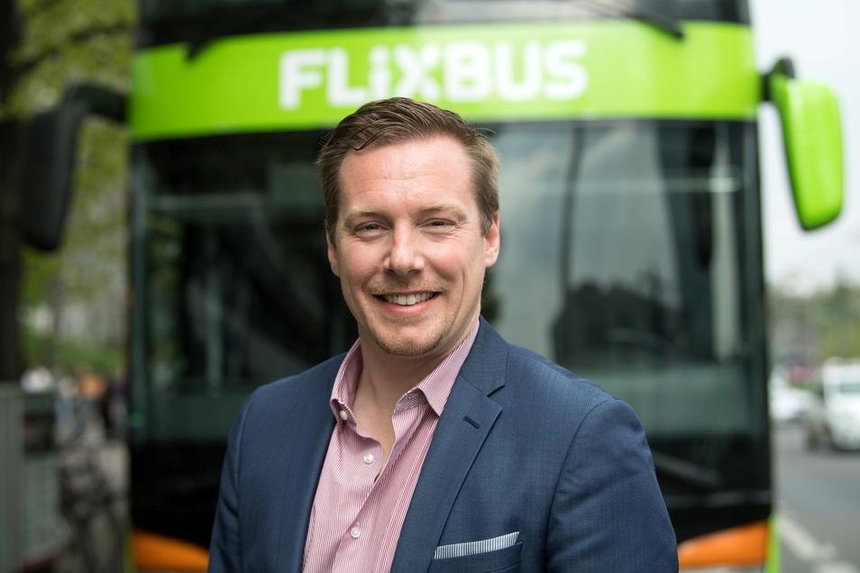 Andre Schwämmlein, Gründer und Geschäftsführer von Flixbus