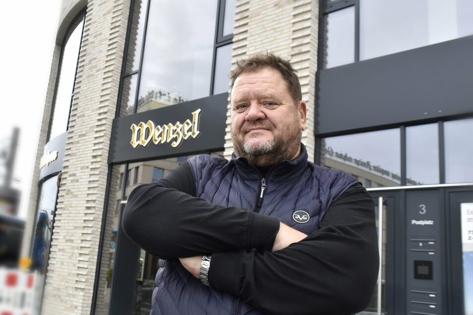 Michael Möckel ist der Chef vom Wenzel. Den Außer-Haus-Verkauf hat er im Februar aus wirtschaftlichen Gründen aufgegeben.