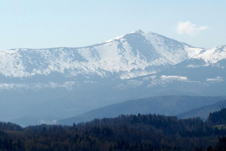 Blick auf die Schneekoppe
