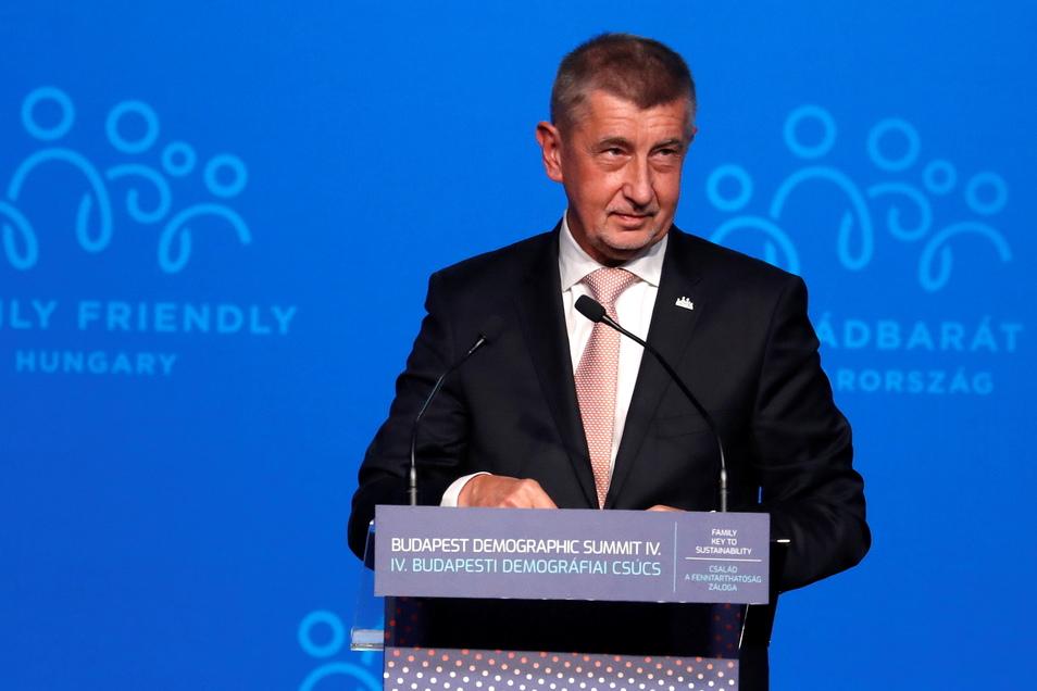 Unter Druck: Der tschechische Premierminister Andrej Babiš.
