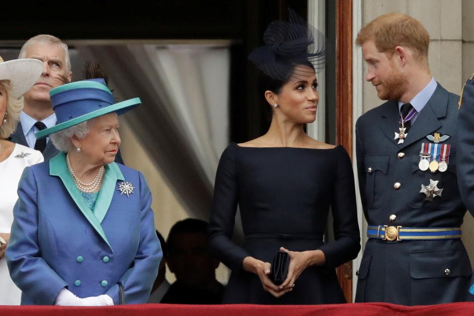 Die Tochter von Prinz Harry und Herzogin Meghan heißt Lilibet. Das ist auch der Spitzname der Queen.
