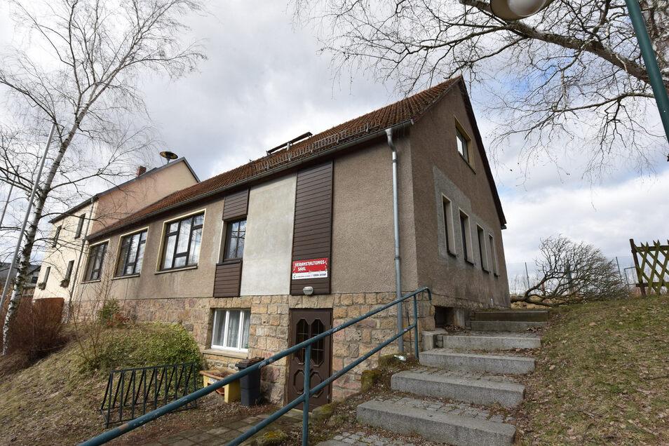 Der ehemalige Mehrzweckraum in Paulsdorf an der Talsperre Malter wird zu Wohnzwecken umgebaut.