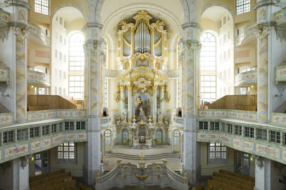 Die Frauenkirche Dresden überträgt die Osterfeierlichkeiten im Netz und Rundfunk.