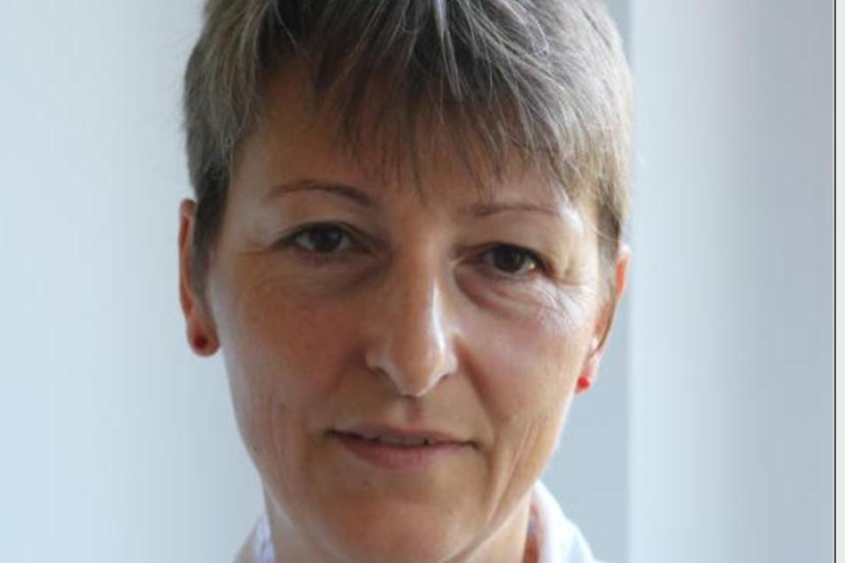 Dr. Annett Krutz (52) ist Fachärztin für Allgemein- und Betriebsmedizin in Bautzen.