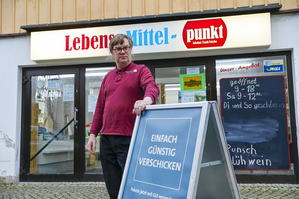 """Zwei Jahre nach der Eröffnung schließt Frank Fetzko seinen """"Lebens-Mittel-Punkt"""" in Oybin."""