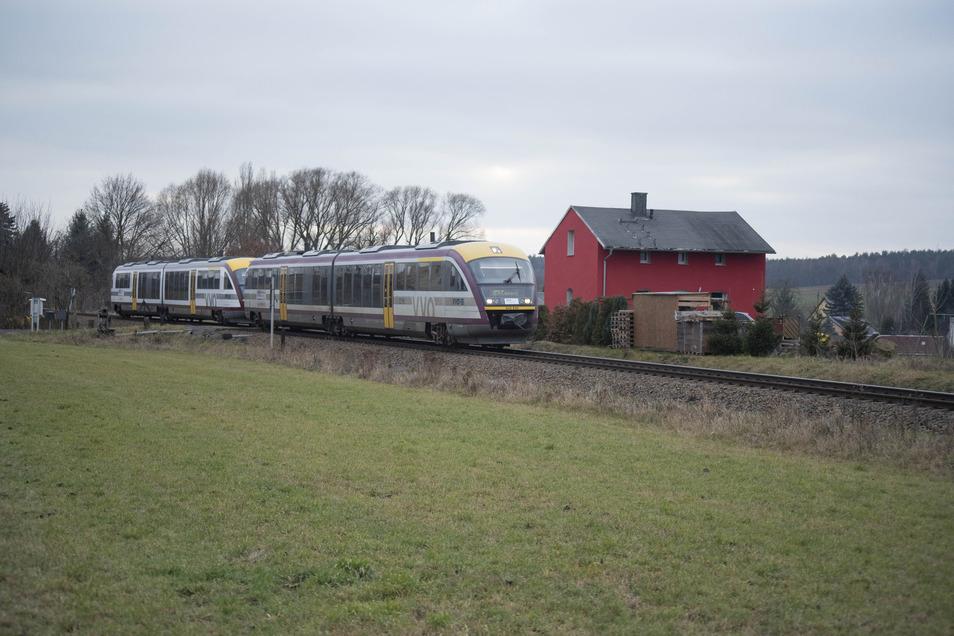 Die Regiobahn soll bald Radeberg mit Hoyerswerda verbinden.