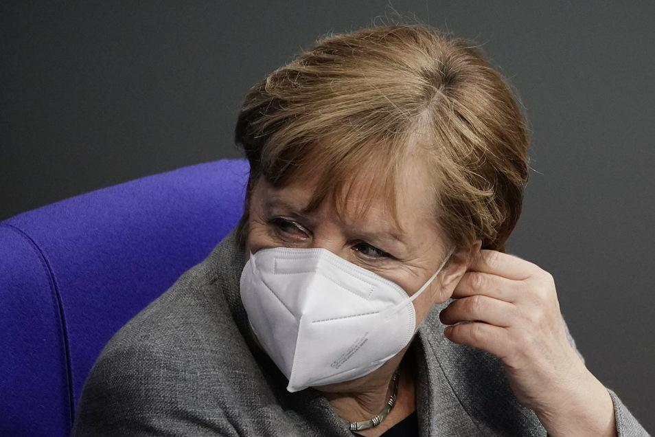 Bundeskanzlerin Angela Merkel (CDU) schlägt vor, den Lockdown bis zum 15. Februar zu verlängern.